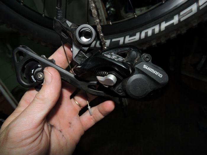 S10 adapter for Shimano Shadow direct link rear derailleur