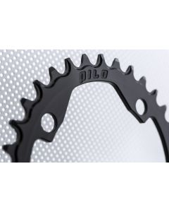 C12 - 34T Narrow wide Chainring 104bcd Black Anodized