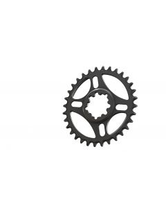 C14 - 34T Narrow wide Chainring for Sram direct dub Black Anodized