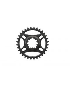 C15 - 32T Narrow wide Chainring for Sram direct dub Black Anodized