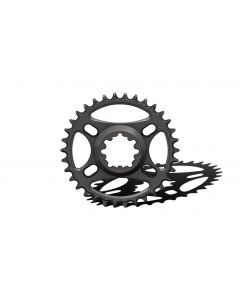 C16 - 34T Narrow wide Chainring for Sram direct dub Black Anodized