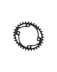 C17 - 32T Narrow wide Elliptic Chainring 96bcd Asymmetric Black Anodized