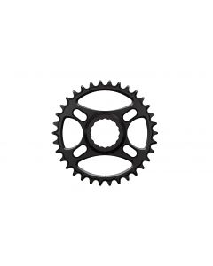 C18 - 34T Narrow wide Chainring for Race Face direct Black Anodized