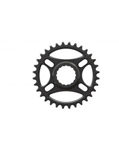 C19 - 32T Narrow wide Chainring for Race Face direct Black Anodized