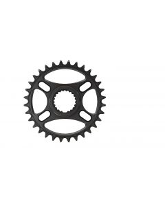C23- 32T Narrow wide Chainring for Shimano direct Black Anodized