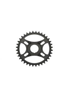 C24- 36T Narrow wide Chainring for Shimano direct Black Anodized