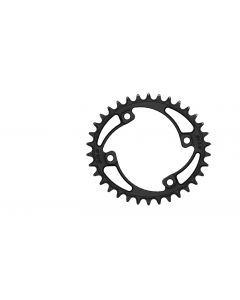 C25 - 34T Narrow wide Elliptic Chainring 96bcd Asymmetric Black Anodized