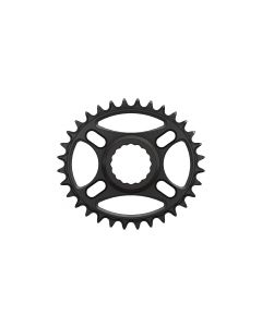 C26 - 32T Narrow wide Elliptic Chainring for Race Face direct Black Anodized
