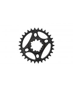 C34- 30T Narrow wide Chainring for Sram direct dub  Black Anodized