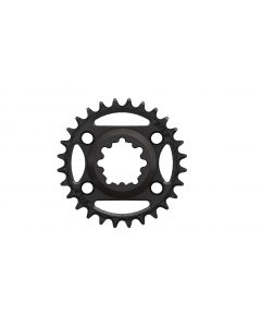 C36 - 28T  Narrow wide direct for Sram 6mm offset Black Anodized