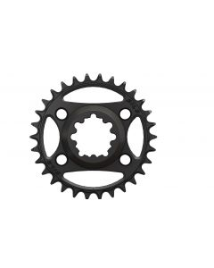 C40 - 30T  Narrow wide direct for Sram 6mm offset Black Anodized