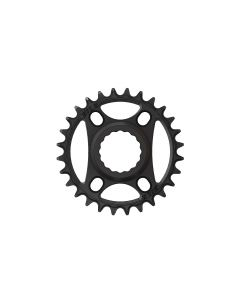 C41- 28T Narrow wide Chainring for Race Face direct Black Anodized