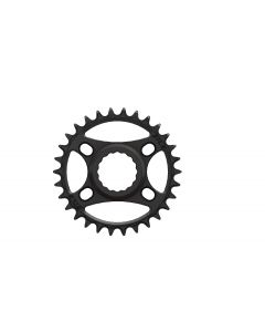C42- 30T Narrow wide Chainring for Race Face direct Black Anodized